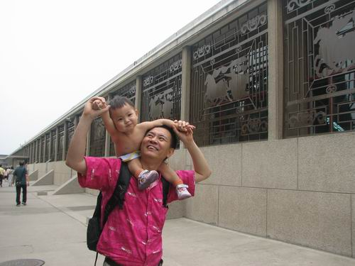 沈瑗杰一岁半:第三次去西安与爸妈一齐游兵马佣 - sz1961sy - 沈阳(sz1961sy)的网易博客